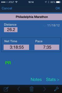 Race record