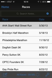 Race database